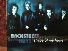BACKSTREET BOYS - PROMO CD SINGLE 2000 - Shape Of My Heart +2 -  RARE OOP
