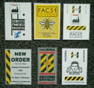 Hacienda FAC51 Manchester Joy Division New Order postcard size prints