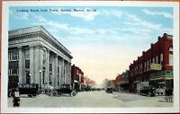 1920 Postcard: Public Square/Downtown - Marion, Illinois IL