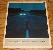 Original 1966 Oldsmobile Toronado Sales Brochure 66 Olds Roto