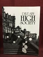 High Society Paperback Dave Sim Cerebus Book Two Reprinting Issues 26-50