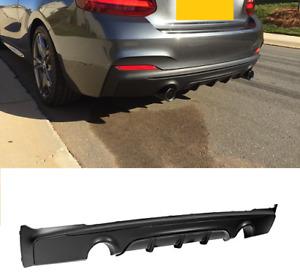 BMW 2 series F22 F23 2dr M235i M240i M sport performance rear diffuser skirt UK