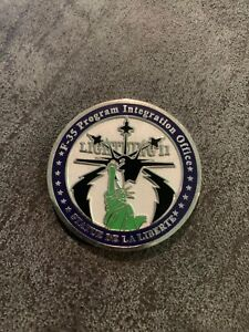 statue of liberty Wing F35 Challenge Coin