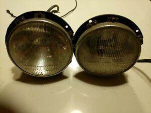 Fiat 124 Sport Carello Headlights