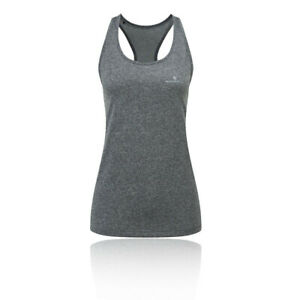 RonHill Womens Everyday Running Vest - Grey Sports Breathable Reflective