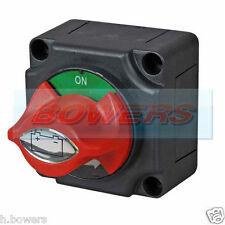 12V / 24V MARINO Rimovibile chiave / Manopola batteria isolante tagliato KILL SWITCH ON OFF