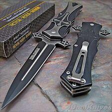 Tac-Force Speedster Celtic Cross Spring Assisted pocket knife with clip