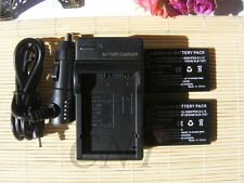 2X Camera Battery +Charger For HP A1812A L1812A Q2232-80001 PhotoSmart R07 R507