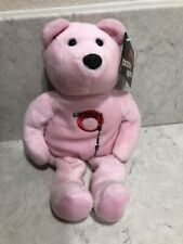 Ty Plush Christina Aguilera Pink Teddy Bear Limited Edition (15,000) A3