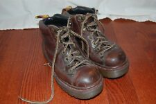 Dr. Martens 8287 Sz 4 Air Wair Hiking Boots Brown Leather Made in England