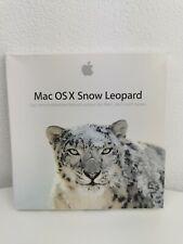 Mac OS X 10.6. Snow Leopard Betriebssystem & Aufkleber - DVD - Neuwertig