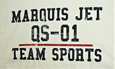 Rare Marquis Jet Partners Aviation QS-01 Team Sports New Unused White T-Shirt Md