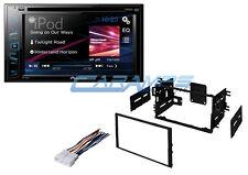 NEW PIONEER STEREO RADIO W/ INSTALL KIT & SMARTPHONE INTG & USB INPUT & CD/DVD