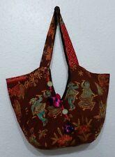 Banjara Handmade Cotton Embroidered Maxi Hand Bag -Boho/Hippie/Ethnic/Vintage