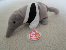 New ~ Ty 1997 Ants the Anteater Beanie Babie ~ Tag Protected ~ Mwmt