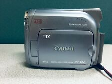 Canon ZR500 Mini DV Camcorder - Tested - Works