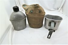 New ListingWw Ii Vintage Vollrath 1944 Canteen, Tacu Co. 1945 Cup And Cover