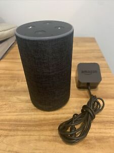 Amazon Echo 2nd Gen XC56PY Smart Assistant - Charcoal Gray
