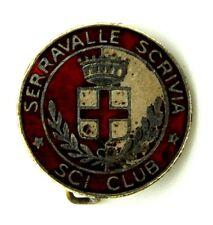 Spilla Serravalle Scrivia Sci Club Diametro cm 1,9
