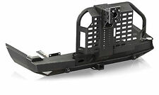 IN 1984-2001 Jeep Cherokee Black XJ Rear Bumper with Tire Carrier & Hitch