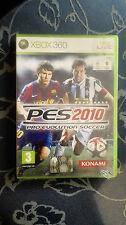 Pro Evolution Soccer 2010  PES 10 XBOX 360 SIGILLATO EDIZIONE ITALIANA