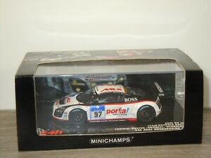 Audi R8 24h ADAC Nurburgring 2010 Ludwig - Minichamps 1:43 in Box *53486