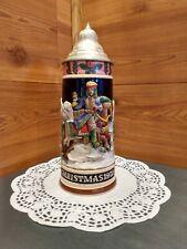 VINTAGE SCHMID DESIGN© LIMITED EDITION WEST GERMAN CHRISTMAS 1972 BEER STEIN