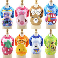 Pet Dog Cat Puppy Sweater Cartoon Hoodie Coat For Small Dogs Costume Apparel