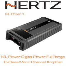 Hertz ML Power 1 - Mono Channel Class D Car Amplifier Subwoofer Amp 1000WRMS