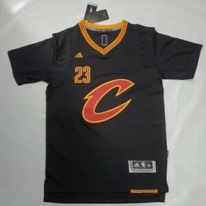 LeBron James Cleveland Cavaliers #23 Sleeve Jersey 2016 NBA Finals Cavs medium