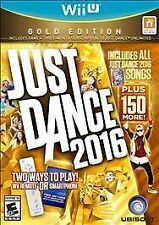 NEW Just Dance 2016: Gold Edition (Nintendo Wii U, 2015) ey