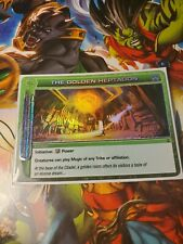 Chaotic Super Rare The Golden Heptagon W/Chaotic Sleeve Ccg Tcg