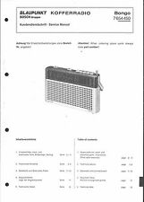 Blaupunkt Service Manual für Bongo 7 654 450  7654450