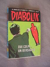 DIABOLIK ORIGINALE ANNO XIV n° 15 - 1975 - RARO - OTTIMO