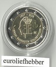 België     2 Euro Commemorative 2012    QUEEN ELISABETH  COMPETITION