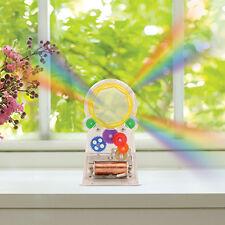 Kikkerland Standing Rainbow Maker Solar Powered Genuine Swarovski Crystal Gift