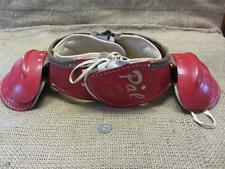 Vintage Leather Child's Football Pads > Antique Old Pal Sports Ball Team 7985