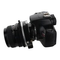 Fotodiox Pro TLT ROKR-Tilt/Shift Adapter Pentax 6x7 (P67) Lenses to Canon EOS