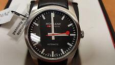 Mondaine Mens Retro Day/Date Automatic Watch