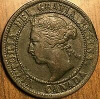1893 CANADA LARGE CENT PENNY 1 CENT