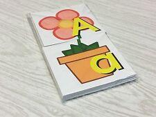 Flower Pot - Uppercase Lowercase Match - Teaching Supplies Reading