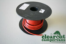 5m x 44 Strand 27 amp 12v Cable Suitable for Campervan/Motorhome Wiring - Red