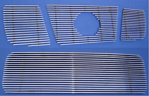 04-07 Titan/Armada Billet Grille  Combo 4 PCS (Inserts only)