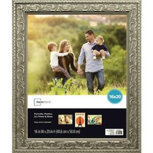 Mainstays 16X20 Gold Poster Frame Picture Hanging Home Decor Art Display Diploma