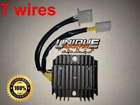 GY6 125cc 150cc High Quality OEM Regulator 7 wires 2 plugs for 11 pole stators