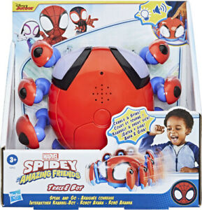 Spidey and His Amazing Friends Speak & Go Trace-E Bot, Electronic Spider Bot Toy