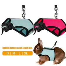 Pet Bunny Harness With Leash Vest Lead for Hamster Rabbit Small Animal Walking