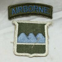 Vtg Military Patch 80th Infantry Airborne Division Insignia Variant 80 1950-52