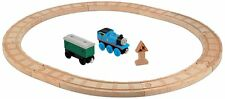 Fisher Price Thomas & Friends Wooden Railway Oval Starter Set Train Set   NEW