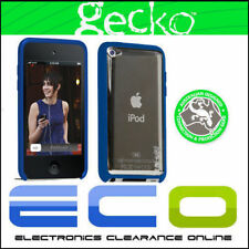 Gecko iPod touch 4th Generation Blue / Clear with Anti-Glare Screen Guard